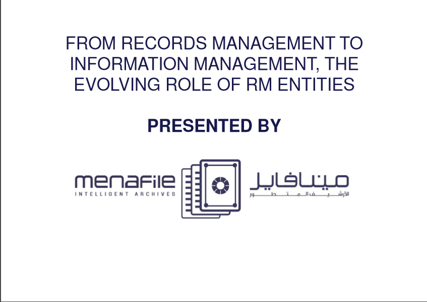 Evolving Role of Record Management